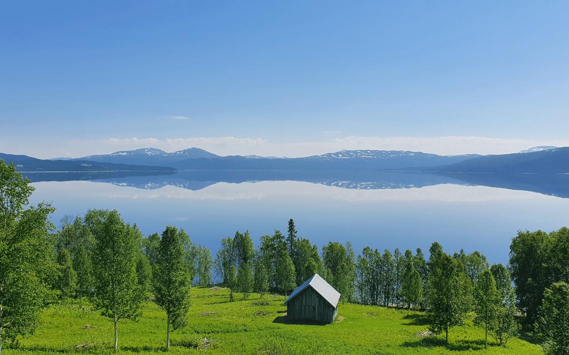 Stora Blåsjön, Faxälven